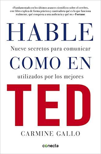 Hable Como en Ted - libros de liderazgo