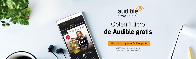 Audible Amazon para audiolibros en español