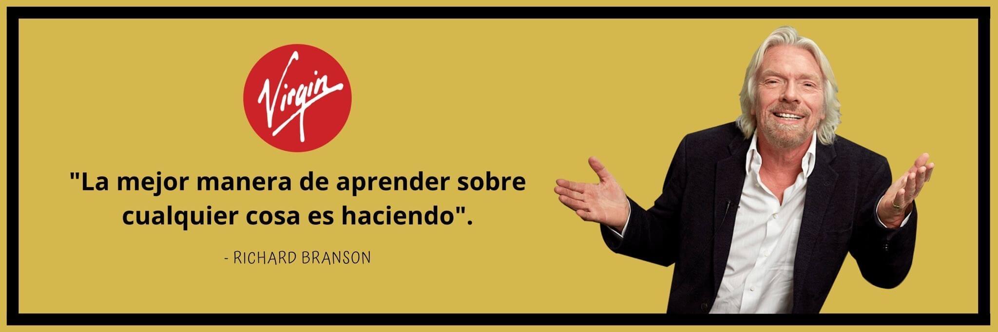 éxito en la vida según las frases de Richard Branson