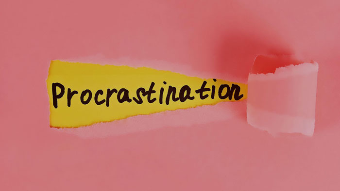 no te culpes por procrastinar