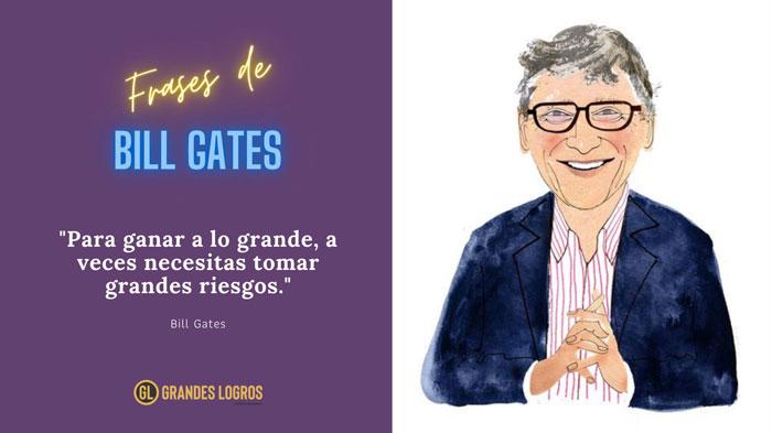 las mejores frases de Bill Gates